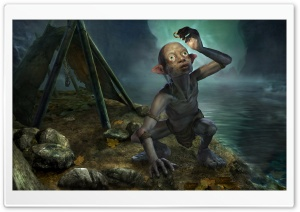 Smeagol HD Wide Wallpaper for Widescreen