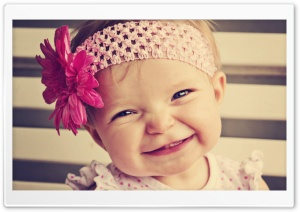 Smile Baby HD Wide Wallpaper for Widescreen