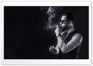 Smoke Men HD Wide Wallpaper for 4K UHD Widescreen desktop & smartphone