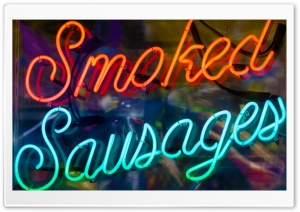 Smoked Sausages HD Wide Wallpaper for 4K UHD Widescreen desktop & smartphone