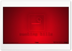 Smoking Kills HD Wide Wallpaper for Widescreen