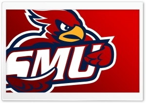 SMU Cardinal Logo HD Wide Wallpaper for Widescreen