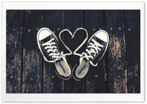 Sneakers Love HD Wide Wallpaper for Widescreen