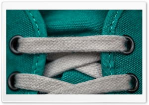 Sneakers Macro HD Wide Wallpaper for Widescreen
