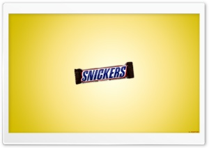 Snickers HD Wide Wallpaper for Widescreen