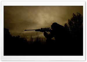 Sniper HD Wide Wallpaper for Widescreen