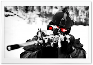 Sniper Ultra HD Wallpaper for 4K UHD Widescreen desktop, tablet & smartphone