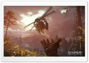Sniper 3 Ghost Warrior Drone HD Wide Wallpaper for Widescreen