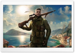 Sniper Elite 4 Game HD Wide Wallpaper for Widescreen