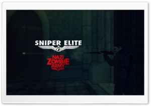 Sniper Elite V2 Nazi Zombie Army HD Wide Wallpaper for 4K UHD Widescreen desktop & smartphone