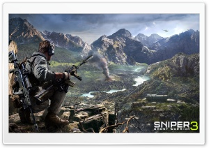 Sniper Ghost Warrior 3 HD Wide Wallpaper for 4K UHD Widescreen desktop & smartphone