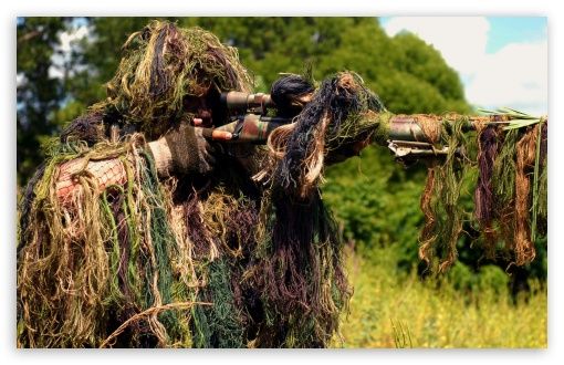 Sniper Military Soldier HD UltraHD Wallpaper for Wide 16:10 Widescreen WHXGA WQXGA WUXGA WXGA ;