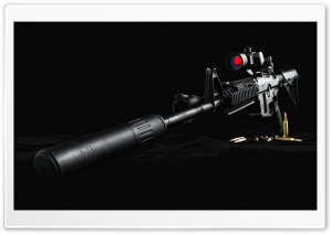 Sniper Rifle HD Wide Wallpaper for Widescreen