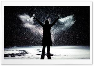 Snow Angel Ultra HD Wallpaper for 4K UHD Widescreen desktop, tablet & smartphone