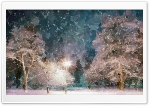 Snow At Night Wallpaper DAP Sargent HD Wide Wallpaper for 4K UHD Widescreen desktop & smartphone