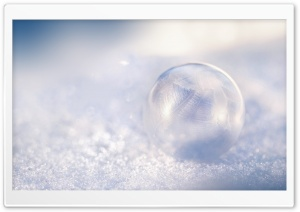 Snow Bubble HD Wide Wallpaper for Widescreen
