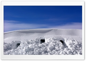 Snow Caves HD Wide Wallpaper for Widescreen