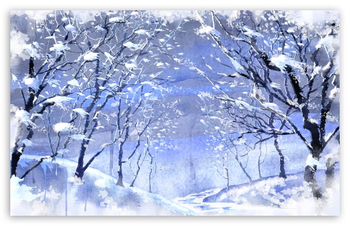 Snow Covered Trees Painting HD wallpaper for Wide 16:10 5:3 Widescreen WHXGA WQXGA WUXGA WXGA WGA ; HD 16:9 High Definition WQHD QWXGA 1080p 900p 720p QHD nHD ; Standard 4:3 5:4 3:2 Fullscreen UXGA XGA SVGA QSXGA SXGA DVGA HVGA HQVGA devices ( Apple PowerBook G4 iPhone 4 3G 3GS iPod Touch ) ; Tablet 1:1 ; iPad 1/2/Mini ; Mobile 4:3 5:3 3:2 16:9 5:4 - UXGA XGA SVGA WGA DVGA HVGA HQVGA devices ( Apple PowerBook G4 iPhone 4 3G 3GS iPod Touch ) WQHD QWXGA 1080p 900p 720p QHD nHD QSXGA SXGA ;