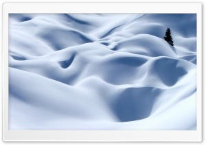 Snow Desert HD Wide Wallpaper for Widescreen