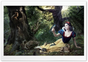 Snow White HD Wide Wallpaper for Widescreen