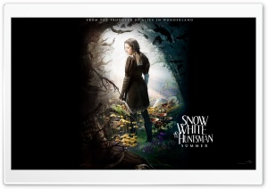 Snow White And The HuntsMan (2012) Fantasy Movie HD Wide Wallpaper for Widescreen