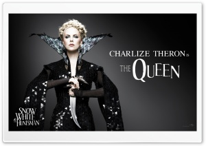 Snow White And The HuntsMan, Charlize Theron as the Queen HD Wide Wallpaper for Widescreen