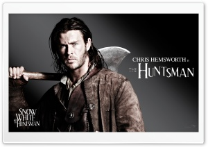 Snow White And The HuntsMan, Chris Hemsworth as the Huntsman HD Wide Wallpaper for Widescreen