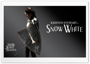 Snow White And The HuntsMan, Kristen Stewart as Snow White HD Wide Wallpaper for Widescreen