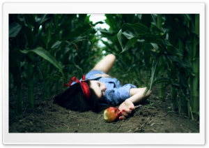 Snow White And The Poison Apple HD Wide Wallpaper for Widescreen