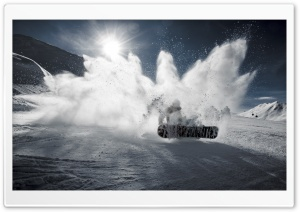 Snowboarding HD Wide Wallpaper for Widescreen