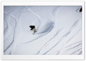 Snowboarding Mountain HD Wide Wallpaper for Widescreen