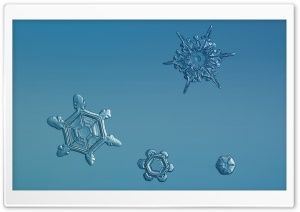 Snowflakes Background HD Wide Wallpaper for Widescreen