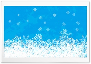 Snowflakes Christmas HD Wide Wallpaper for 4K UHD Widescreen desktop & smartphone