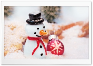 SnowMan HD Wide Wallpaper for 4K UHD Widescreen desktop & smartphone