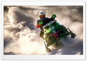 Snowmobile Sports Ultra HD Wallpaper for 4K UHD Widescreen desktop, tablet & smartphone