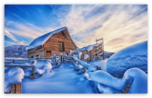 Snowy Cabin, Mountains, Winter ❤ 4K UHD Wallpaper for Wide 16:10 5:3 Widescreen WHXGA WQXGA WUXGA WXGA WGA ; UltraWide 21:9 24:10 ; 4K UHD 16:9 Ultra High Definition 2160p 1440p 1080p 900p 720p ; UHD 16:9 2160p 1440p 1080p 900p 720p ; Standard 4:3 5:4 3:2 Fullscreen UXGA XGA SVGA QSXGA SXGA DVGA HVGA HQVGA ( Apple PowerBook G4 iPhone 4 3G 3GS iPod Touch ) ; Smartphone 3:2 5:3 DVGA HVGA HQVGA ( Apple PowerBook G4 iPhone 4 3G 3GS iPod Touch ) WGA ; Tablet 1:1 ; iPad 1/2/Mini ; Mobile 4:3 5:3 3:2 16:9 5:4 - UXGA XGA SVGA WGA DVGA HVGA HQVGA ( Apple PowerBook G4 iPhone 4 3G 3GS iPod Touch ) 2160p 1440p 1080p 900p 720p QSXGA SXGA ; Dual 16:10 5:3 16:9 4:3 5:4 3:2 WHXGA WQXGA WUXGA WXGA WGA 2160p 1440p 1080p 900p 720p UXGA XGA SVGA QSXGA SXGA DVGA HVGA HQVGA ( Apple PowerBook G4 iPhone 4 3G 3GS iPod Touch ) ;