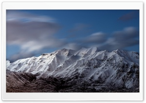 Snowy Mount Timpanogos HD Wide Wallpaper for Widescreen