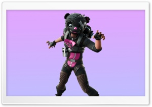 Snuggs Outfit, Fortnite 2 game Ultra HD Wallpaper for 4K UHD Widescreen desktop, tablet & smartphone