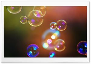 Soap Bubbles HD Wide Wallpaper for Widescreen