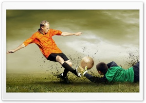 Soccer HD Wide Wallpaper for Widescreen