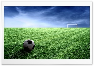 Soccer Field HD Wide Wallpaper for 4K UHD Widescreen desktop & smartphone