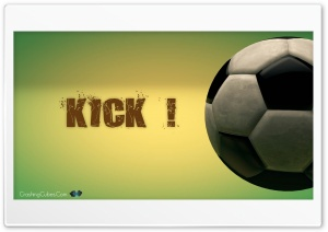 Soccer Kick HD Wide Wallpaper for Widescreen
