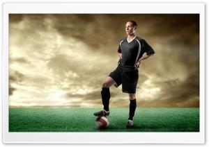 Soccer Player HD Wide Wallpaper for 4K UHD Widescreen desktop & smartphone