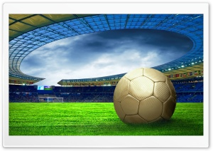 Soccer Stadium HD Wide Wallpaper for 4K UHD Widescreen desktop & smartphone