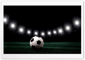 Soccer Stadium at Night HD Wide Wallpaper for Widescreen