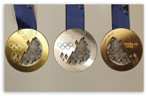 Sochi 2014 Medals HD wallpaper for Wide 16:10 5:3 Widescreen WHXGA WQXGA WUXGA WXGA WGA ; HD 16:9 High Definition WQHD QWXGA 1080p 900p 720p QHD nHD ; Mobile 5:3 16:9 - WGA WQHD QWXGA 1080p 900p 720p QHD nHD ; Dual 5:4 QSXGA SXGA ;