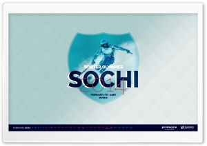 Sochi Winter Olympics 2014 HD Wide Wallpaper for Widescreen