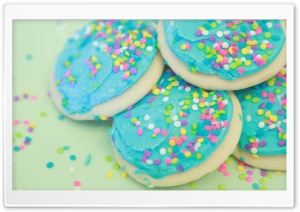 Soft Sweet Sugar Cookies HD Wide Wallpaper for 4K UHD Widescreen desktop & smartphone