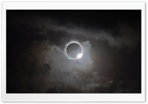 Solar Eclipse HD Wide Wallpaper for Widescreen