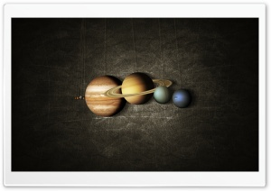 Solar System Planets HD Wide Wallpaper for Widescreen